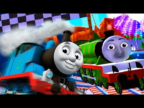 Thomas & Friends: Magical Tracks - Kids Train Set - Castle, Racing, All Characters Unlock - Part 2