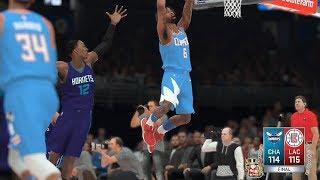 Hornets vs Clippers 12.31.17 #NBA2K18 #PS4 #2KALLDAY