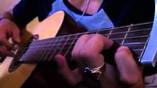 mưa rơi lặng thầm guitar