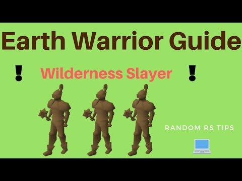Earth Warriors Wilderness Slayer Guide (OSRS)