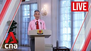Live Hd  Singapore Pm Lee Hsien Loong Addresses Nation On Covid-19 Situation
