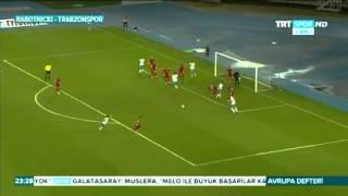 Лига Европы. 3-й отборочный раунд. Работнички (Македония) - Трабзонспор (Турция) 1:0