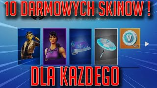 HOW TO UNLOCK 10 NEW SKINS FOR EVERYONE! -Fortnite Battle Royale