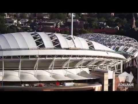 Adelaide Oval time lapse - from start to finish