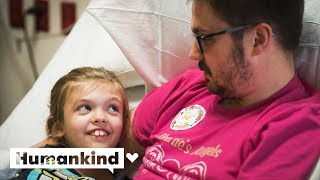 Dad proves he'd do anything for his daughter   Humankind