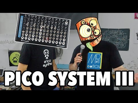 NEW Erica Synths PICO System III // Modular Day Barcelona #6