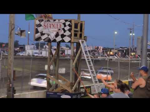 *June 27, 2019 IMCA Hobby Stock Feature at Benton County Speedway - Fair Race