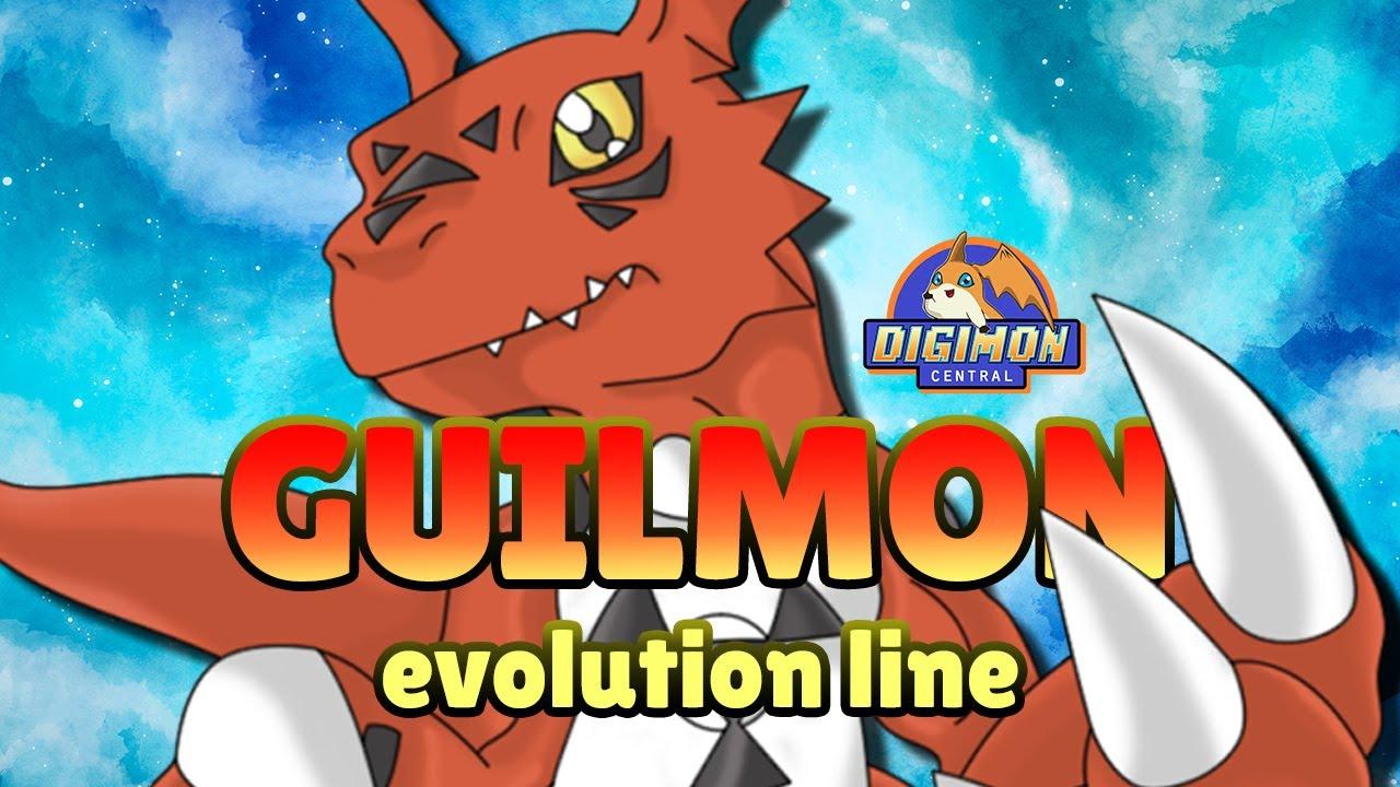 Guilmon Evolution Chart