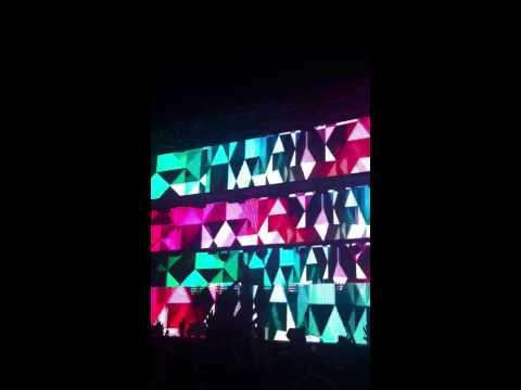 Tiesto light show