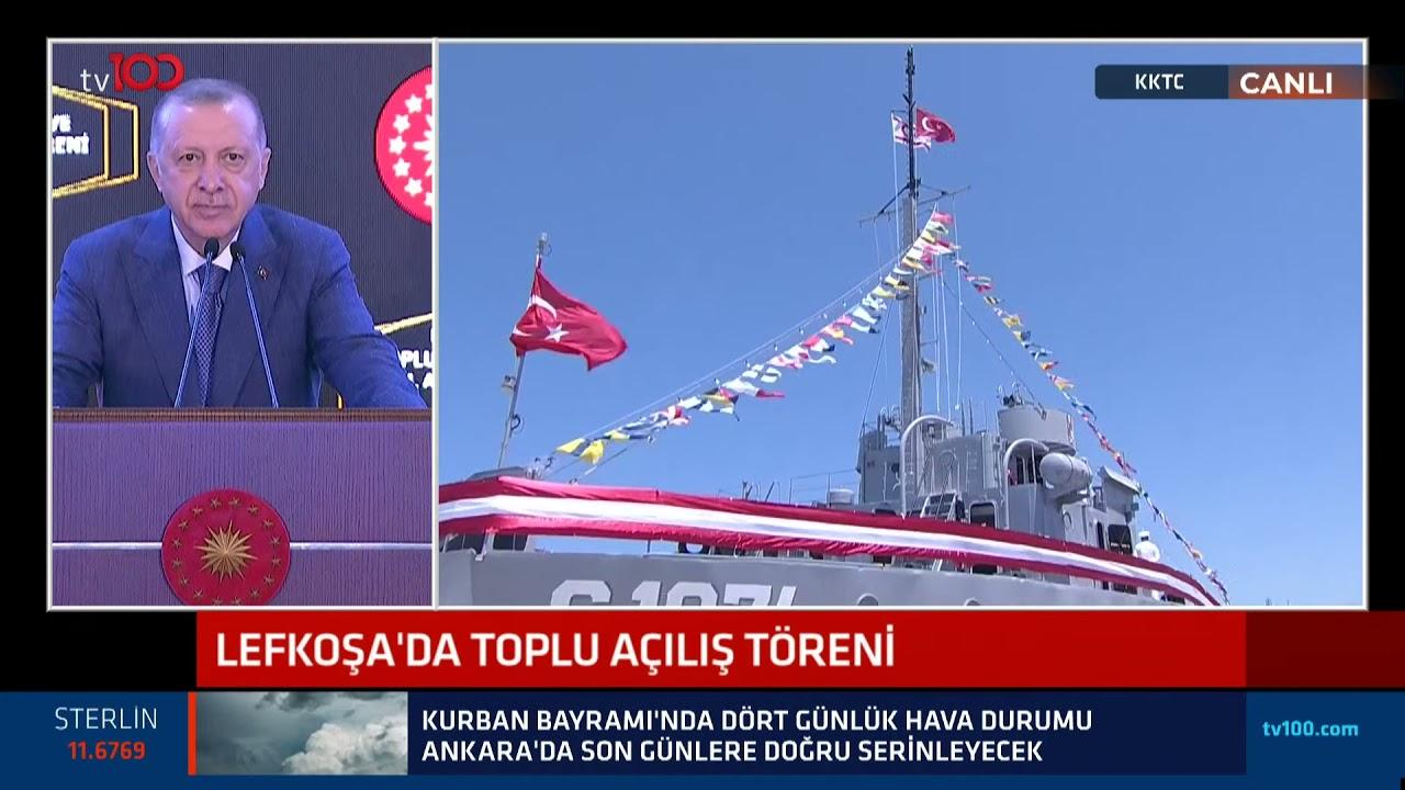 Download Cumhurbaşkanı Erdoğan KKTC Lefkoşa'da Toplu Açılış Töreni'nde konuştu