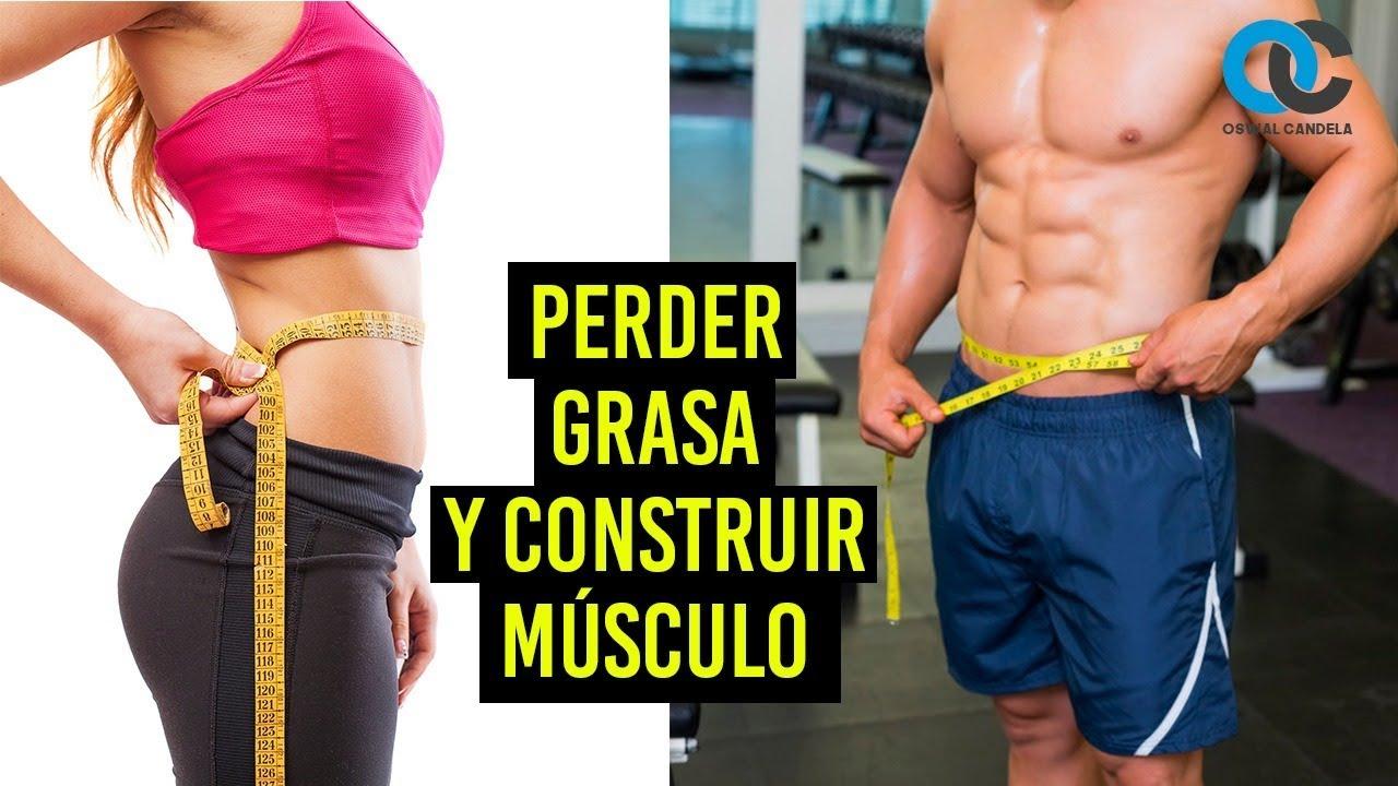 puedo aumentar masa muscular y quemar grasa al mismo tiempo