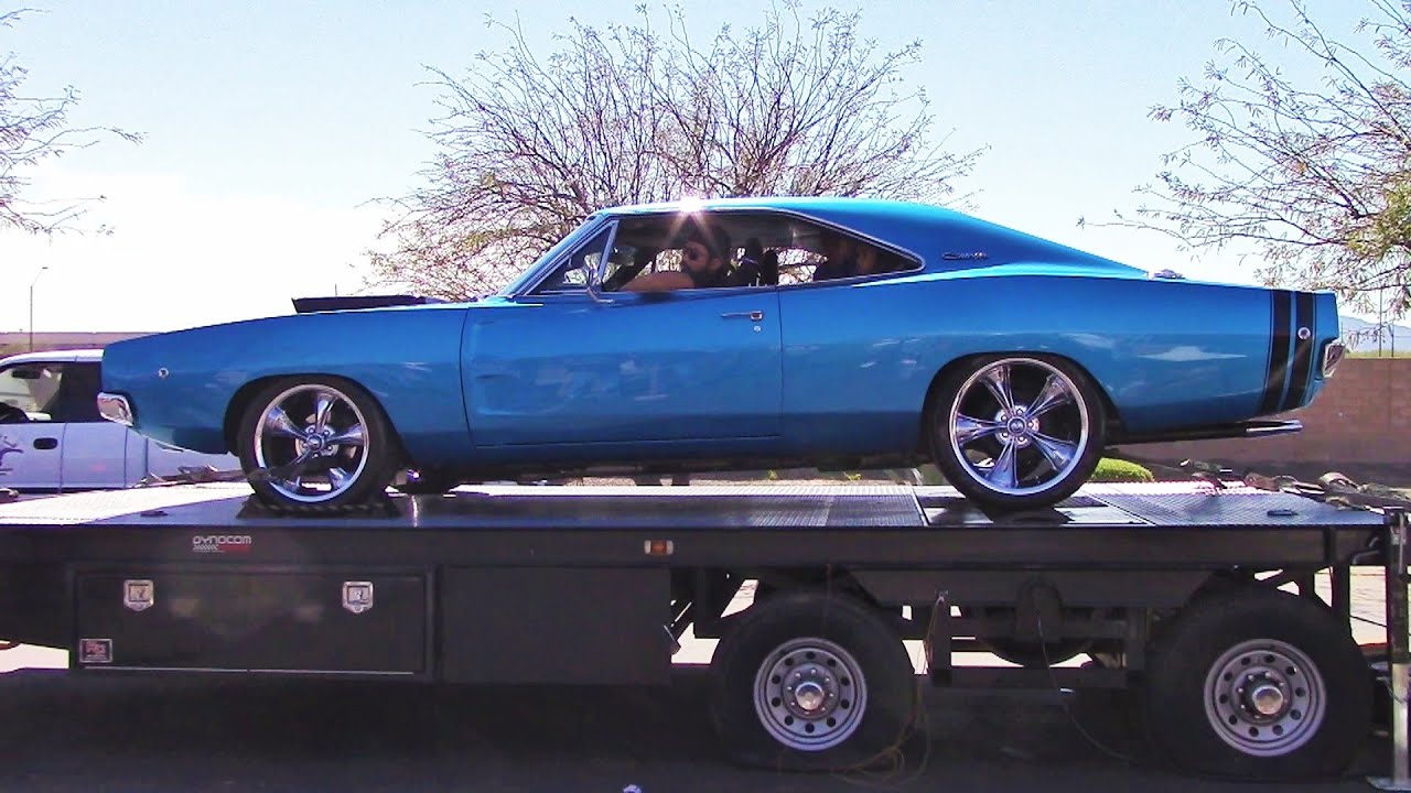 1968 Dodge Charger 383 Roars On The Dyno Video Classic