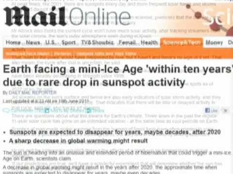 """21 - """"Earth facing mini-ice age!!"""" say the media. Now for the science...."""
