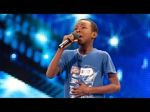 Malakai Paul sings Beyonce Listen - Britain's Got Talent 2012 auditions - UK version