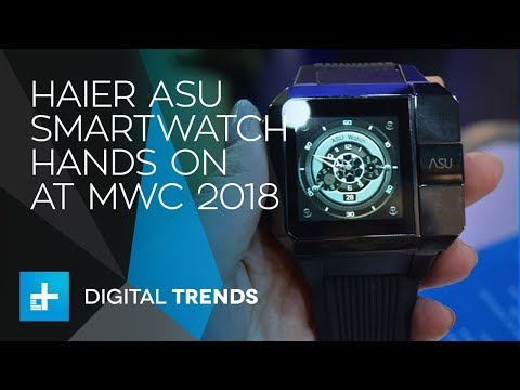 Haier Asu Smartwatch - Hands On