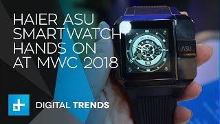 Haier Asu Smartwatch - Hands On