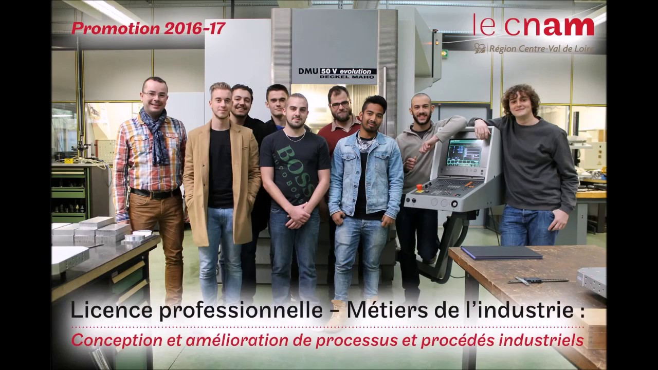 Cnam Centre De Formation Région Centre Licence Professionnelle