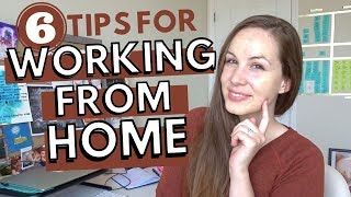 WORKING FROM HOME (+ Writing From Home): Tips for Productivity, Motivation, & Avoiding Distractions!