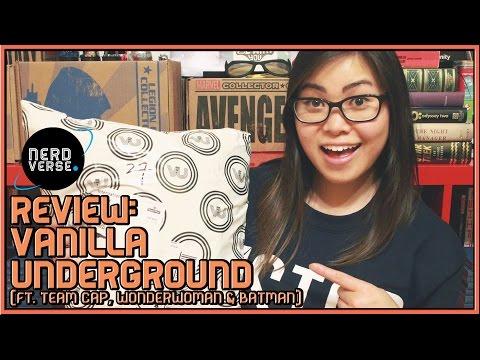 Review: Vanilla Underground (ft. Team Cap, Wonder Woman & Batman)