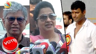 UNCULTURED people involved in Producer Council Election : SAC, Radhika against Vishal Team | Speech