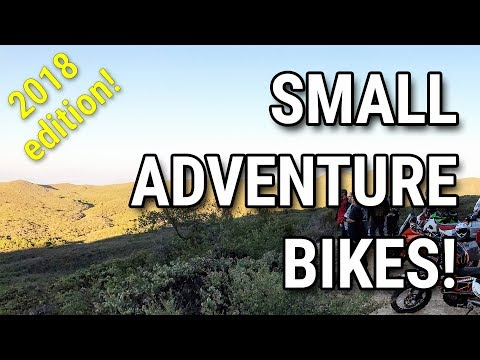 Small Adventure Bikes in 2018: An Overview of the Top 5 Lightweight & Affordable ADV Motorcycles