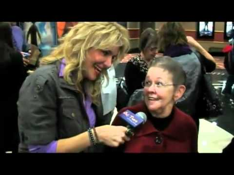 interview with his great grandma at Out There Update - Justin Bieber  Never Say Never