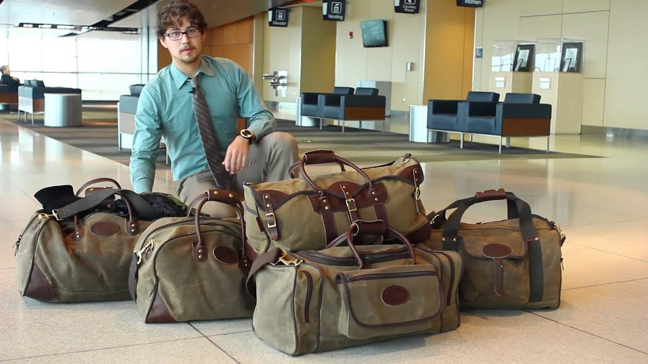 Frost River Carry On Luggage At The Airport Youtube
