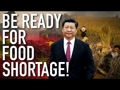 China On The Brink Of A Major Food Shortage! Be Ready For Worldwide Starvation