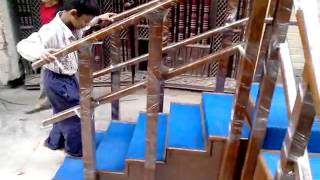 Physiotherapy Equipment Exercise staircase corner type Video By Biotronix India