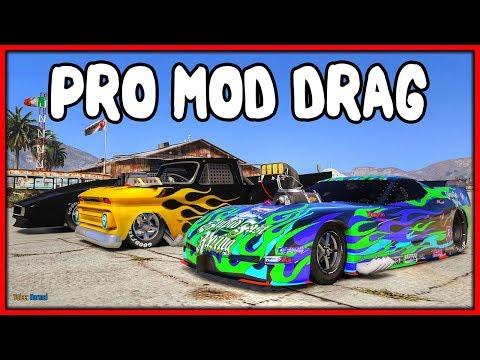 GTA 5 Roleplay - 1000BHP Pro Mod Drag Event | RedlineRP #770