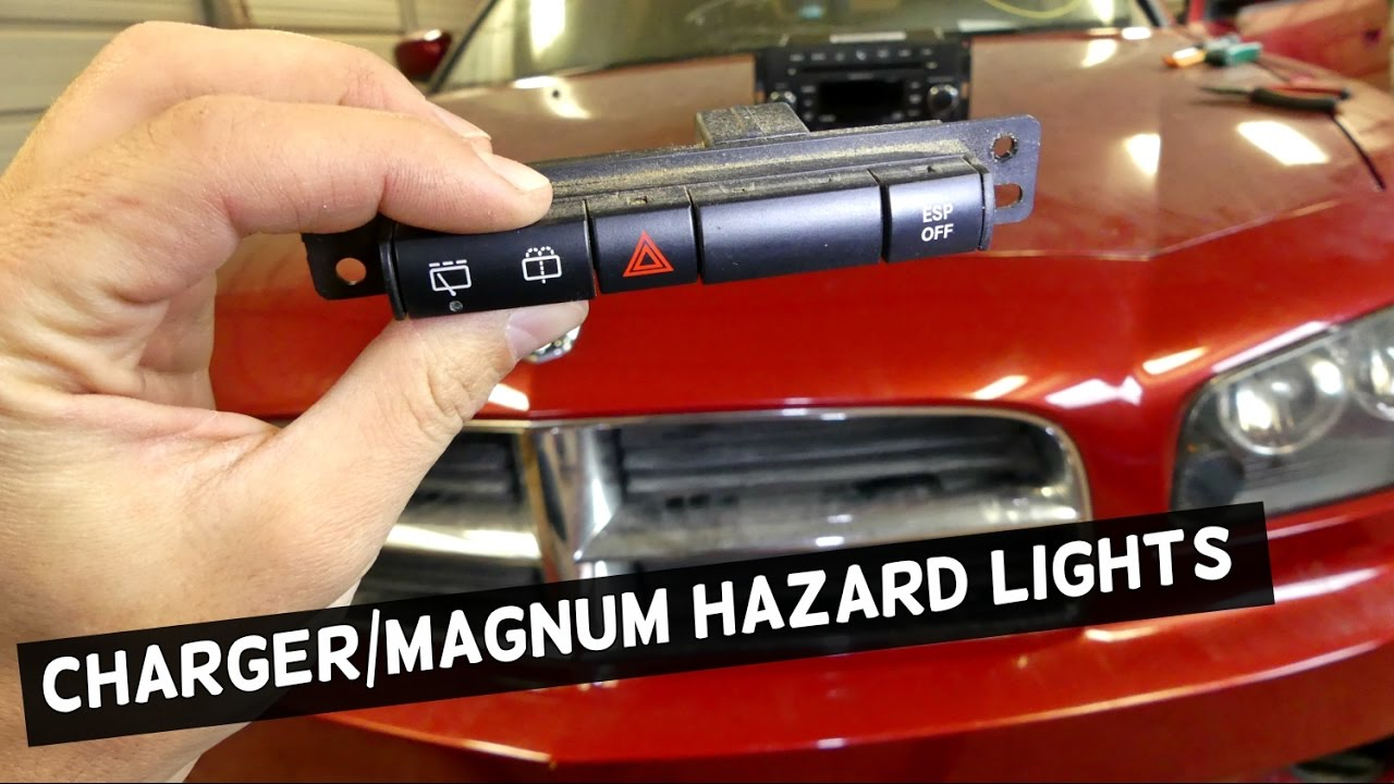 medium resolution of dodge charger hazard lights switch replacement removal dodge magnum