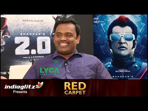 Rajini 2.0 is SHOT in 3D, not converted like others : Lyca Production COO Interview | Enthiran