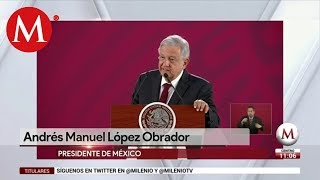 AMLO pide licencia a Morena