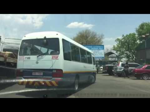 Zambia Livingston to Zimbabwe Victoria Falls Border Crossing Video by HDI