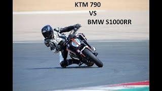 KTM 790 VS BMW S1000RR I  CIRCUITO LOS ARCOS TRACK DAYS