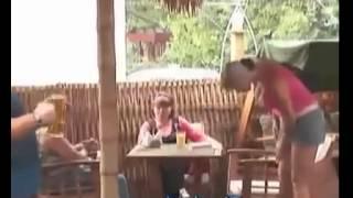 dolgun rus kadından güzel şaka (frikik)