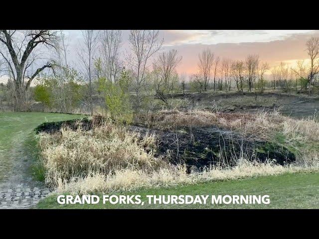 Thursday Morning Fire At Lincoln Park In Grand Forks