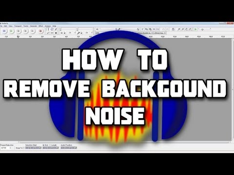 How to: Remove background noise & Clean up your Audio (FREE AND EASY)