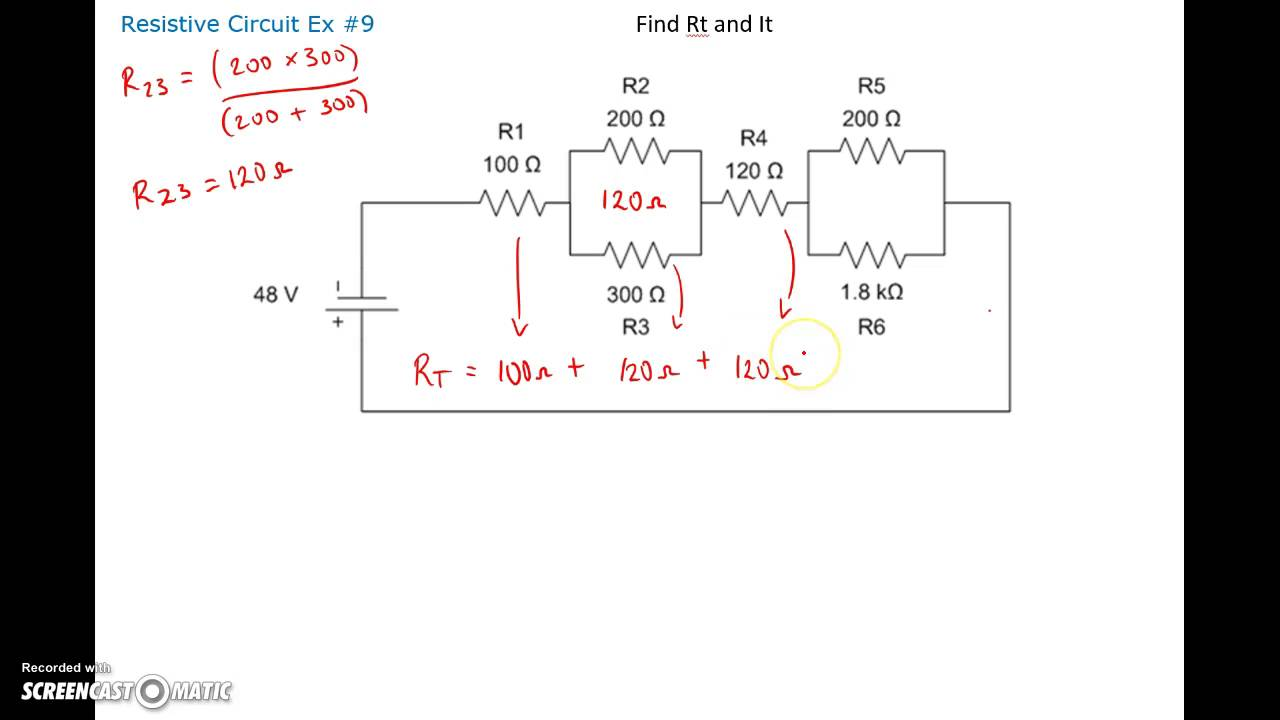 parallel and series combination circuits Capacitors are one of the standard components in electronic circuits moreover, complicated combinations of capacitors connected in series and in parallel.