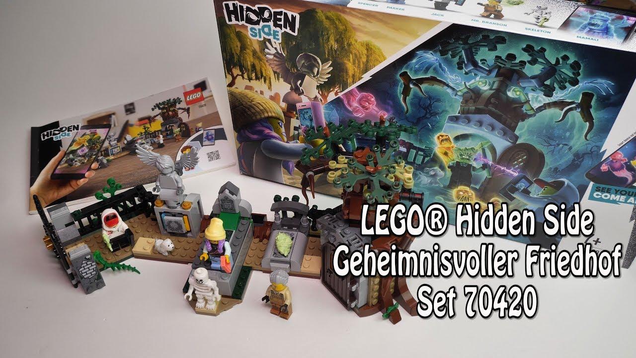 Geheimnisvoller Friedhof LEGO Hidden Side 70420 Jack Geister Grusel mit App
