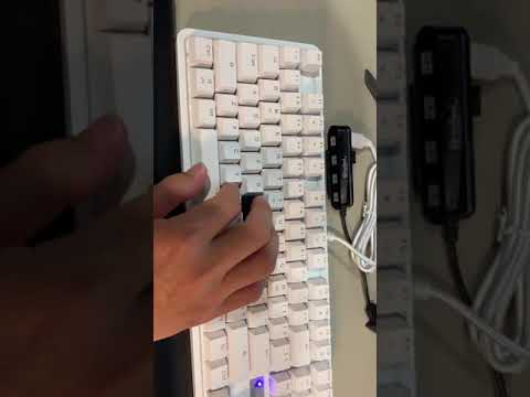 Typing experience comparison with Corsair's Cherry Red keyboard of similar spec and quality.