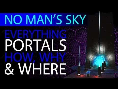 Everything Portals   No Man's Sky 2019 Beginner Guides   Xaine's World NMS
