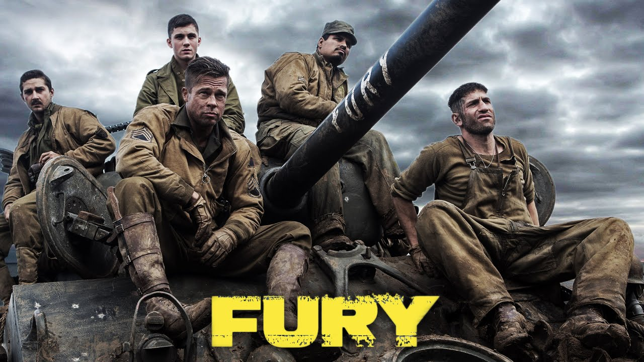 Fury (2014) - World War 2 Movie Review - YouTube