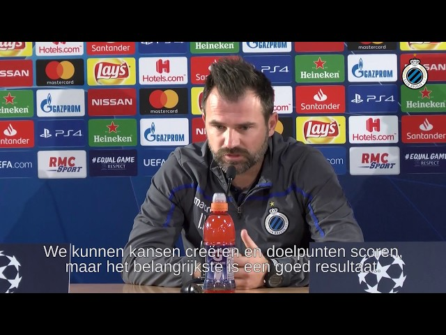 CLUB BRUGGE | PERSCONFERENTIE AS Monaco - Club Brugge | 2018-2019