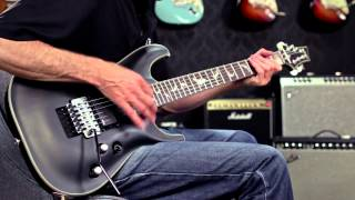 Product Spotlight - Schecter Damien 6 Platinum with Floyd Rose Electric Guitar
