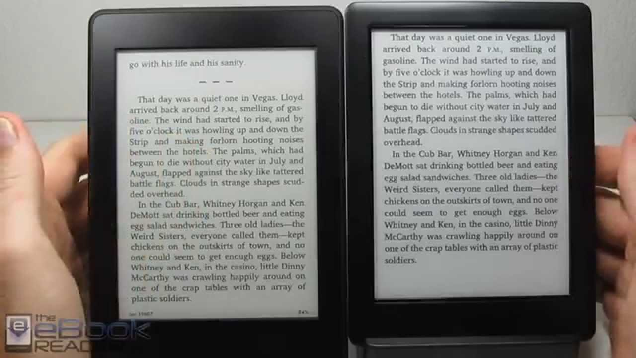 Kindle Paperwhite 3 vs Kobo Glo HD Comparison Review
