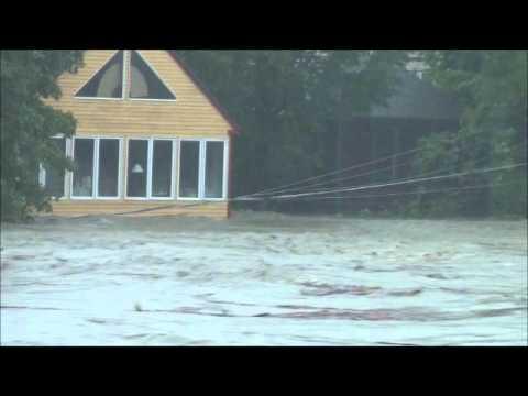 Shelburne Falls Flood of 2011