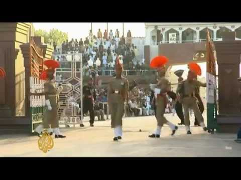 India Pakistan border post opens for business Central South Asia Al Jazeera English - YouTube.flv