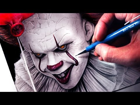 Let's Draw PENNYWISE - IT - FAN ART FRIDAY