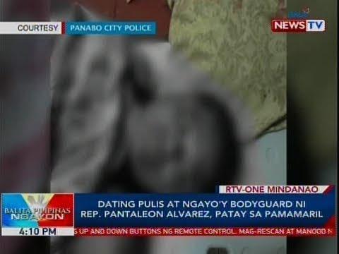 BP: Dating Pulis At Ngayo'y Bodyguard Ni Rep. Pantaleon Alvarez, Patay Sa Pamamaril